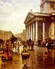 William Logsdail St Martin-in-the Fields painting