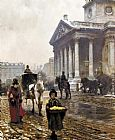 William Logsdail St. Martins-in-the-Fields painting
