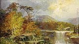 William Louis Sonntag Along the Ohio painting