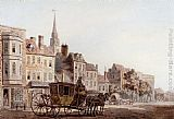 William Marlow A Coach And Horse Entering York painting