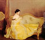 William McGregor Paxton The Crystal painting