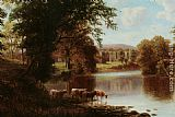 William Mellor Bolton Abbey painting