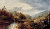 William Mellor On The Derwent, Derbyshire painting