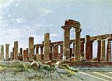 William Stanley Haseltine Agrigento painting