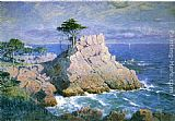 William Stanley Haseltine Midway Point, California painting