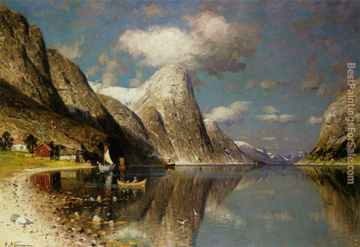 Adelsteen Normann Paintings for sale
