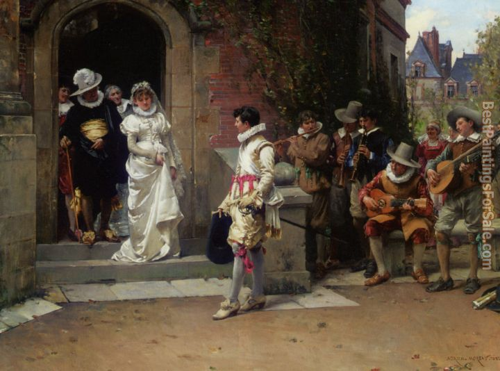 Adrien Moreau Paintings for sale