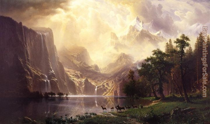 Albert Bierstadt Paintings for sale