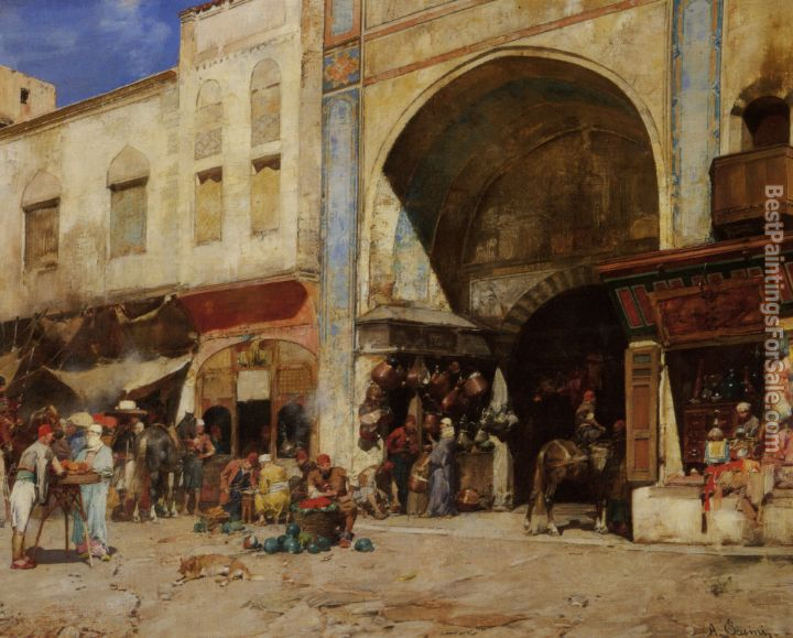 Alberto Pasini Paintings for sale