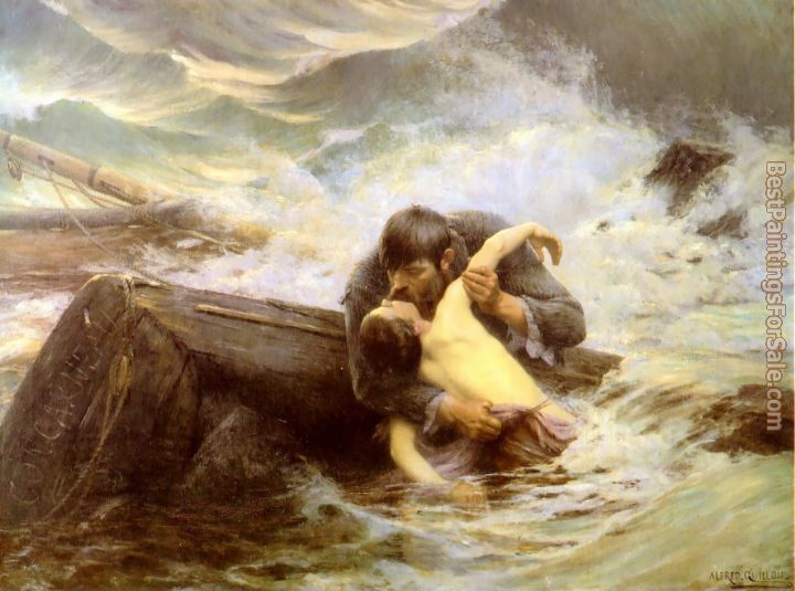 Alfred Guillou Paintings for sale