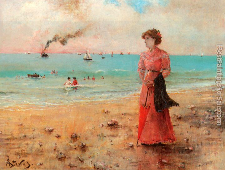 Alfred Stevens Paintings for sale