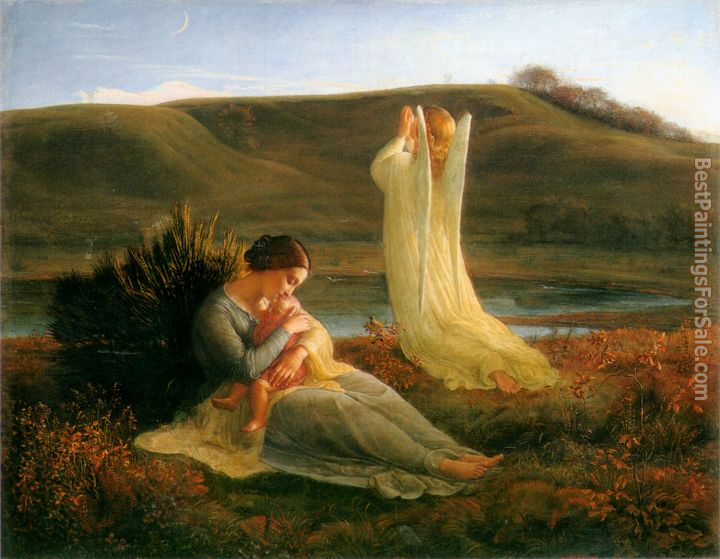 Anne-Francois-Louis Janmot Paintings for sale
