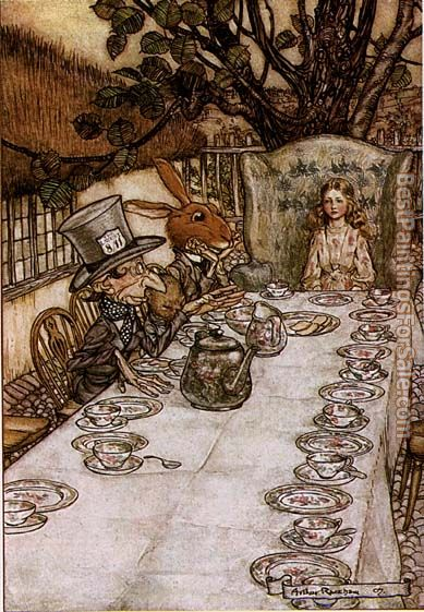Arthur Rackham Paintings for sale