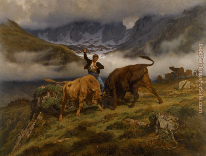 Auguste Bonheur Paintings for sale