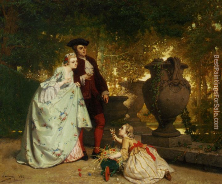 Auguste Serrure Paintings for sale