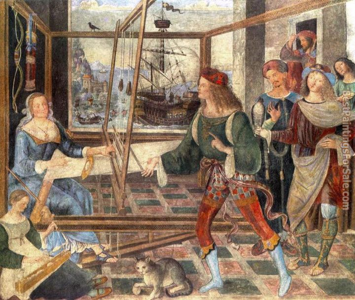Bernardino Pinturicchio Paintings for sale