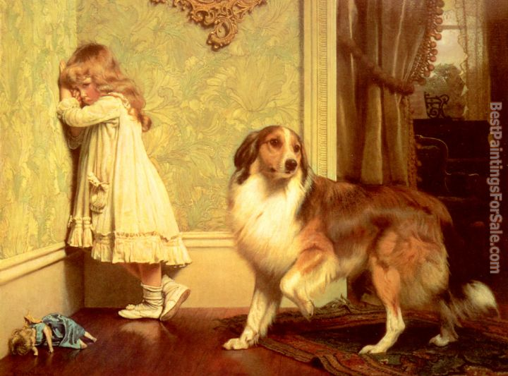 Charles Burton Barber Paintings for sale