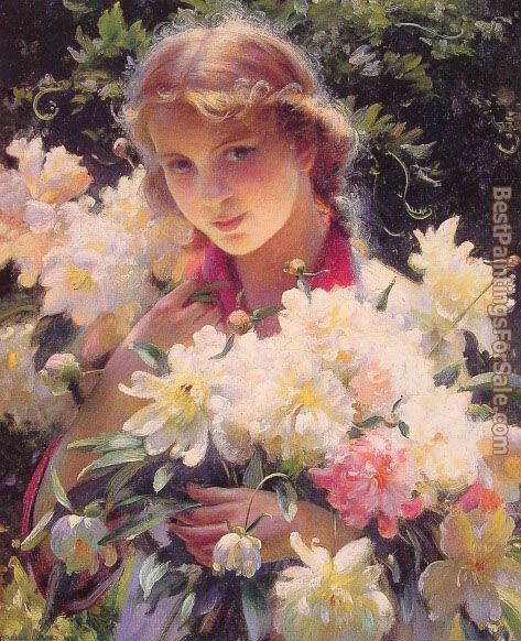 Charles Courtney Curran Paintings for sale