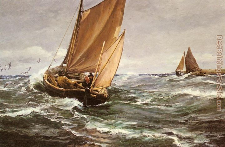 Charles Napier Hemy Paintings for sale