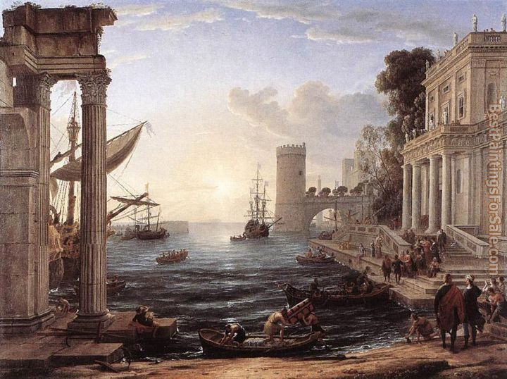 Claude Lorrain Paintings for sale