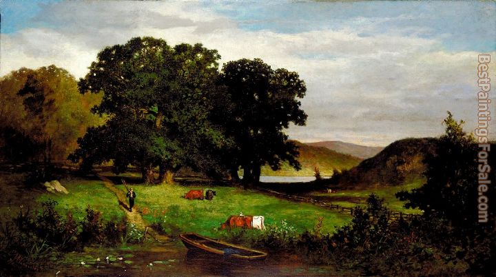 Edward Mitchell Bannister Paintings for sale