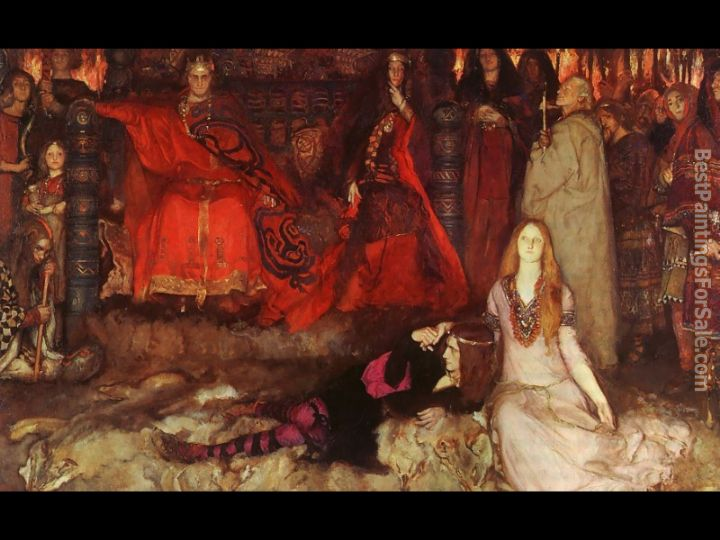 Edwin Austin Abbey Paintings for sale