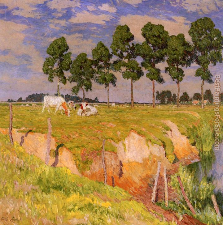 Emile Claus Paintings for sale