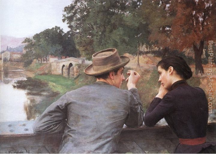 Emile Friant Paintings for sale