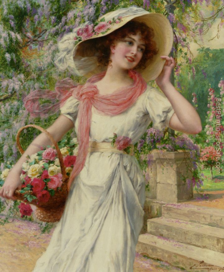 Emile Vernon Paintings for sale