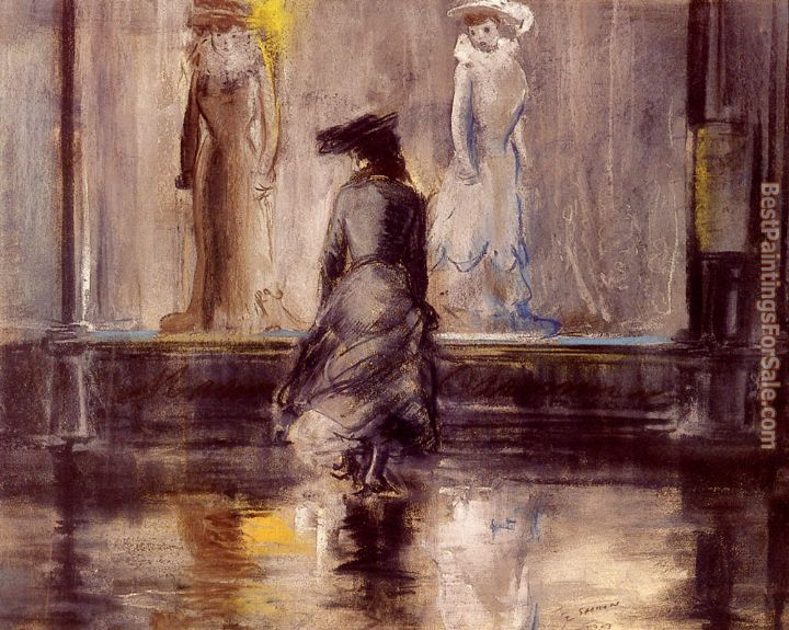 Everett Shinn Paintings for sale