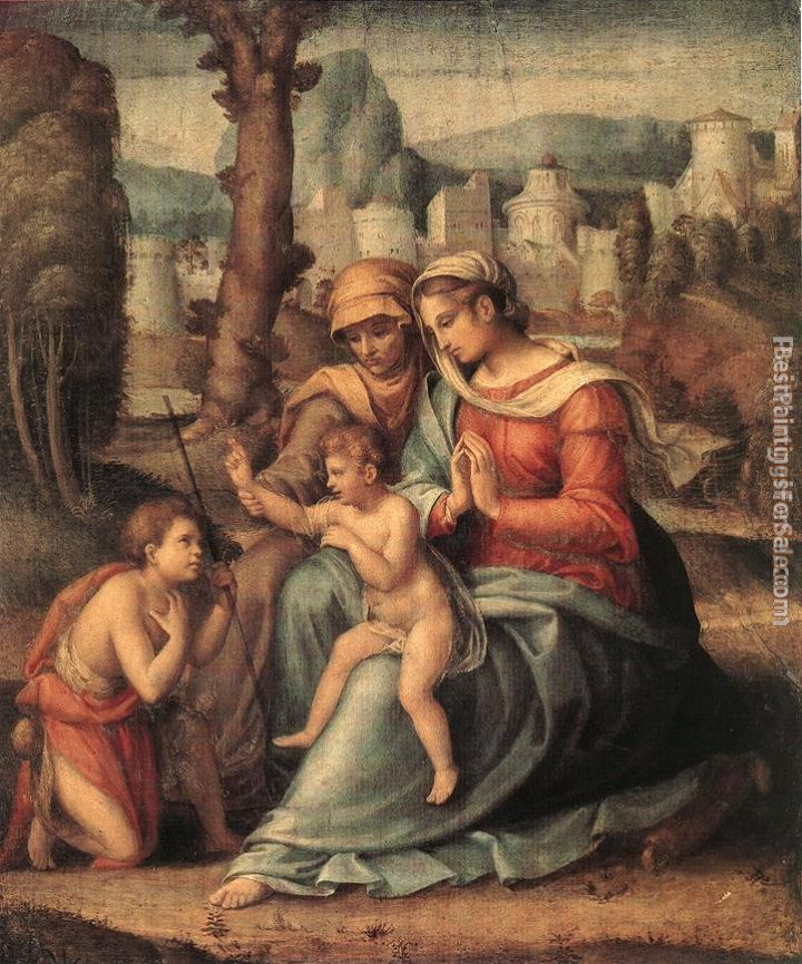 Francesco Ubertini Bacchiacca II Paintings for sale