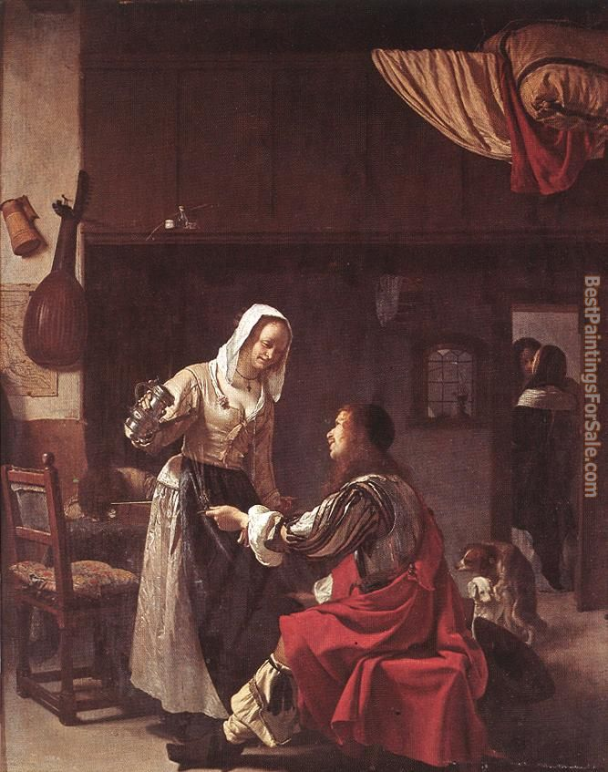 Frans van Mieris Paintings for sale