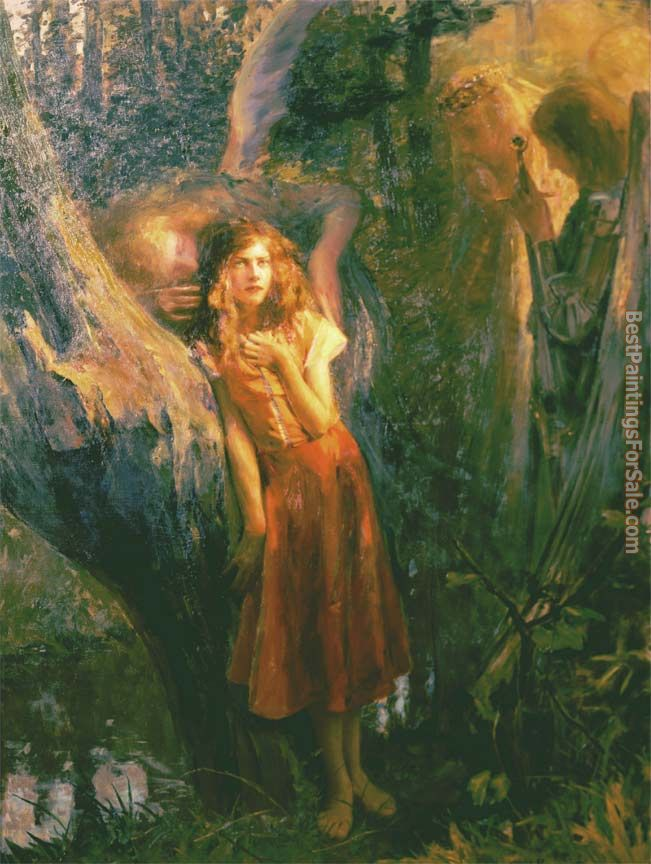 Gaston Bussiere Paintings for sale