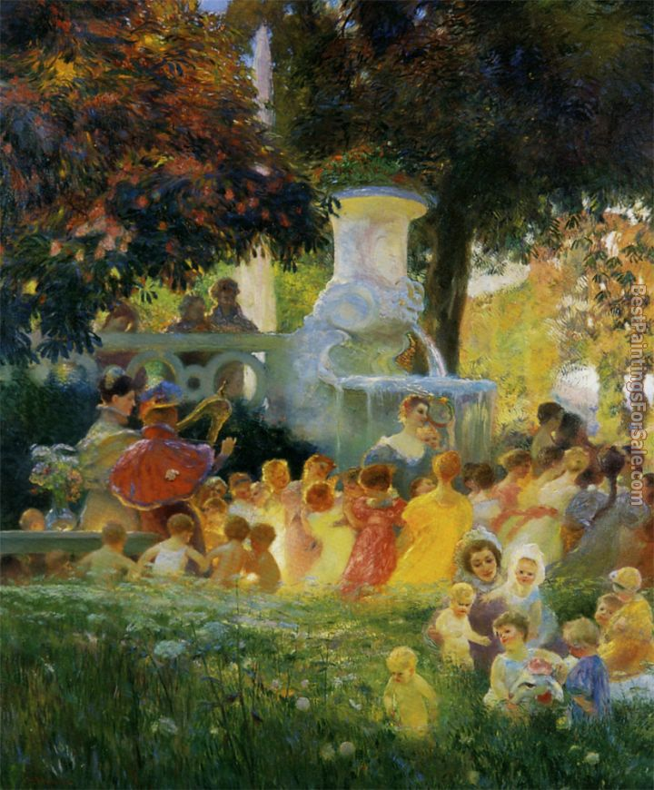 Gaston La Touche Paintings for sale