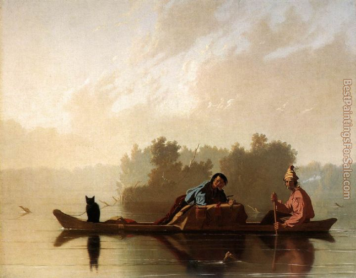 George Caleb Bingham Paintings for sale