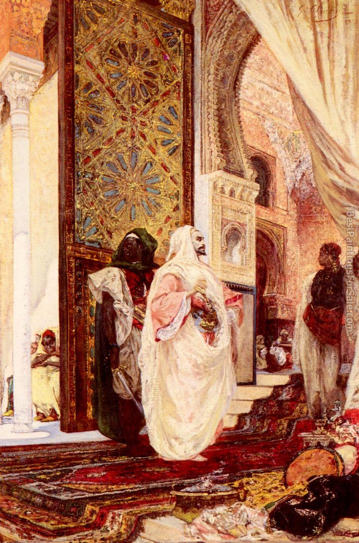 Georges Jules Victor Clairin Paintings for sale