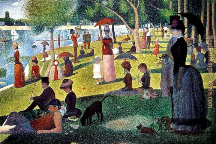 Georges Seurat Paintings for sale