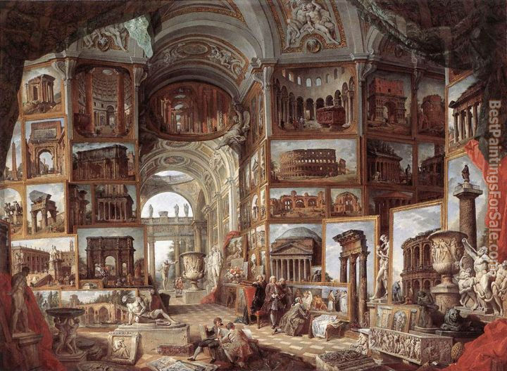 Giovanni Paolo Pannini Paintings for sale