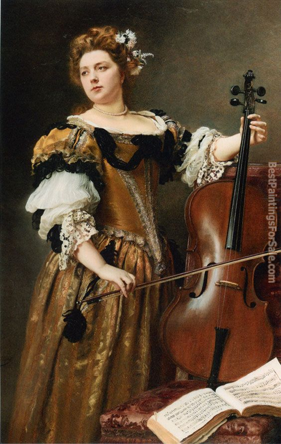 Gustave Jean Jacquet Paintings for sale