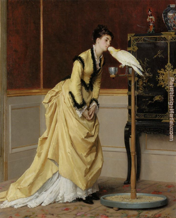 Gustave Leonhard de Jonghe Paintings for sale