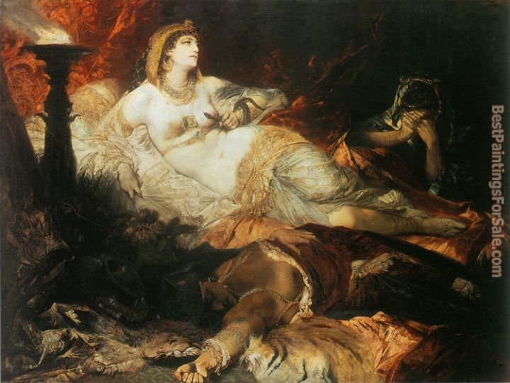 Hans Makart Paintings for sale
