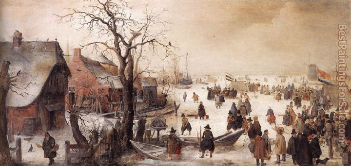 Hendrick Avercamp Paintings for sale