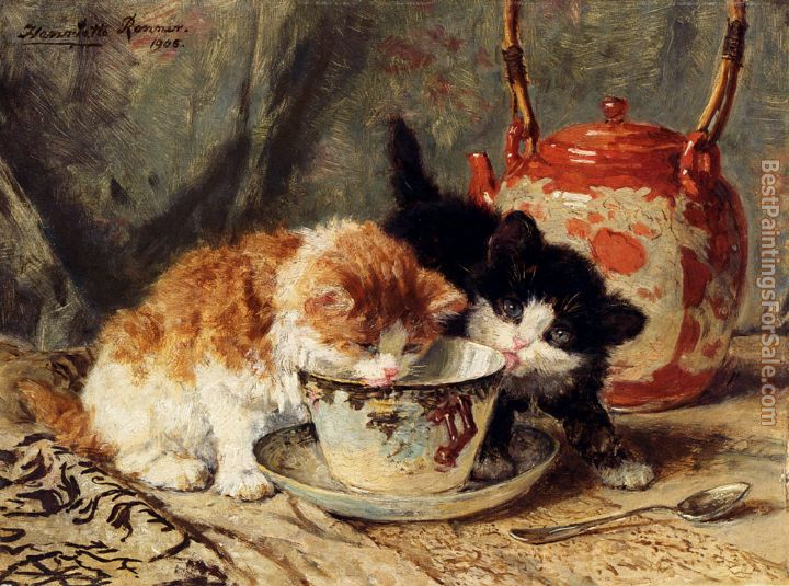 Henriette Ronner-Knip Paintings for sale
