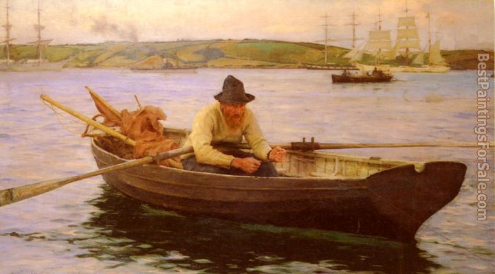 Henry Scott Tuke Paintings for sale
