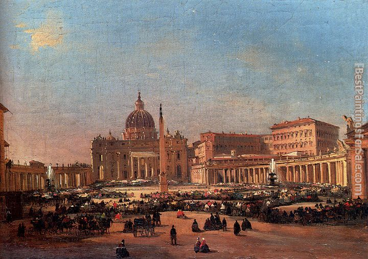 Ippolito Caffi Paintings for sale
