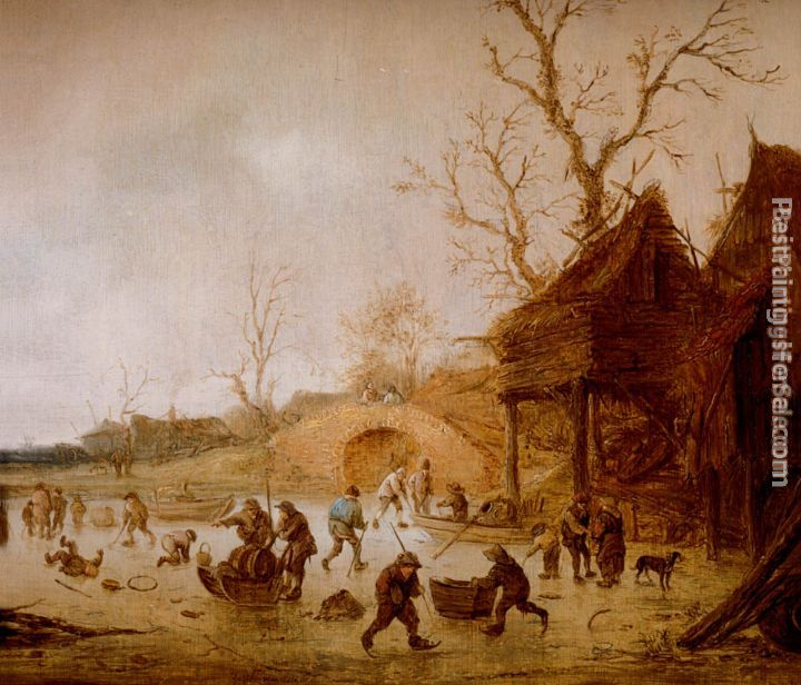 Isack van Ostade Paintings for sale