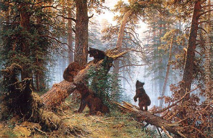 Ivan Shishkin Paintings for sale
