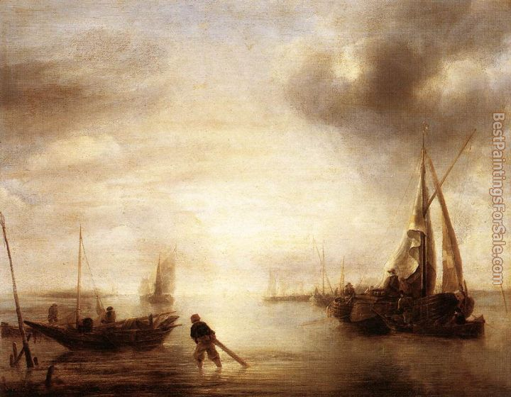 Jan van de Capelle Paintings for sale