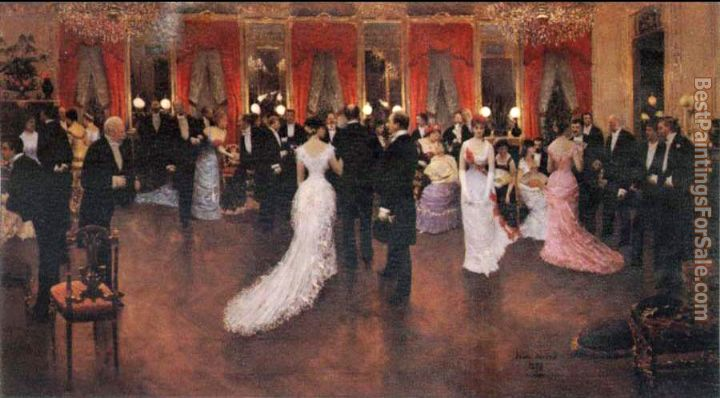 Jean Beraud Paintings for sale