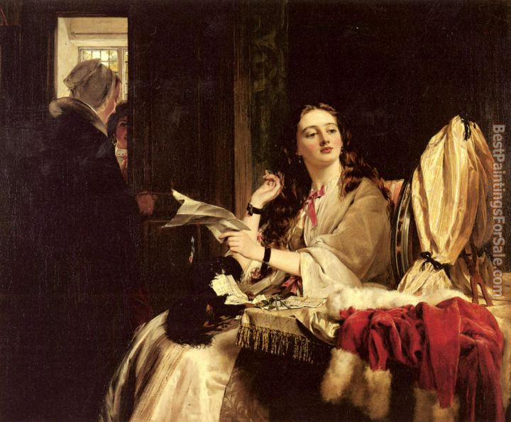 John Callcott Horsley Paintings for sale